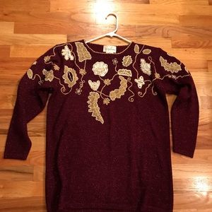 Jaclyn Smith Sweaters - Vintage holiday sweater